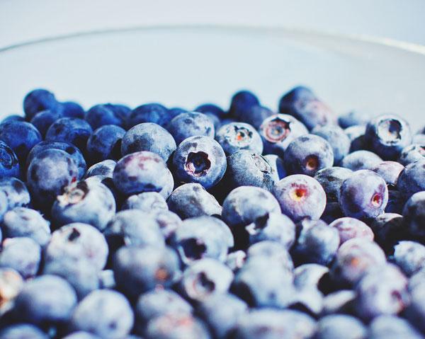 Blåbär motverkar diabetes typ 2.